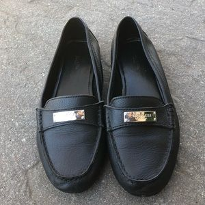 Coach leather loafers/flats